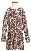 Splendid Toddler Girl's Animal Print Loose Knit Dress