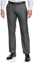 Kenneth Cole Reaction Slim-Fit Sharkskin Dress Pants