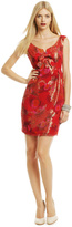 Anna Sui Sealed With A Kiss Dress