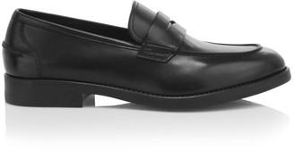 Salvatore Ferragamo Ayden Leather Penny Loafers
