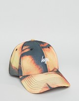 Hype Baseball Cap In Bleach Effect