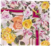 Dolce & Gabbana floral print scarf - women - Modal/Cashmere - One Size