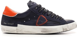 Philippe Model Prsx Veau Broderie Sneakers