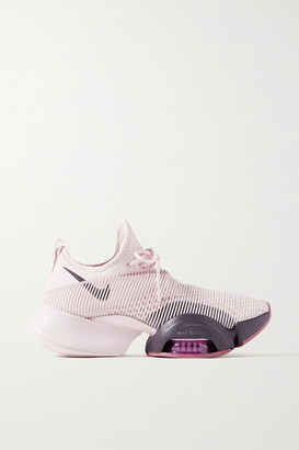 Nike Air Zoom Superrep Neoprene And Mesh Sneakers - Lilac