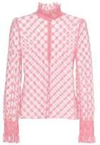 Philosophy di Lorenzo Serafini Cotton-blend lace top