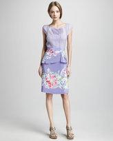 Soiree Floral-Print Skirt