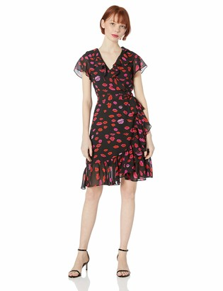 Betsey Johnson Women's Wrap Dress