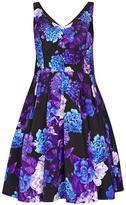 City Chic Hydrangea Dress