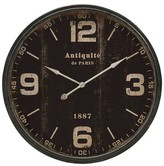 "Aurora Traditional Decorative Clock (5.12 X 40.35 X 40.16"")"
