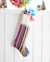 Kim Seybert Playful Brights Collection Stocking