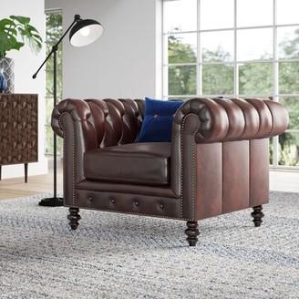 """Mistana Brooklyn 21.5"""" Chesterfield Chair"""