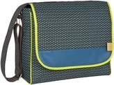 Lassig Casual Messenger Diaper Bag includes Changing Mat, Bottle Holder and Stroller Hooks