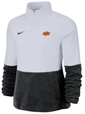 Nike Women's Oklahoma State Cowboys Therma Long Sleeve Quarter-Zip Pullover