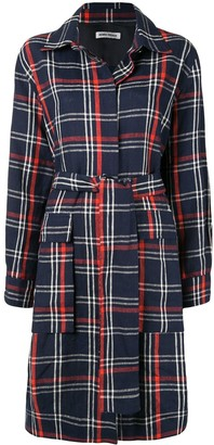 Henrik Vibskov Plaid Print Coat
