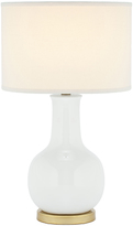 Safavieh White Silas Lamp