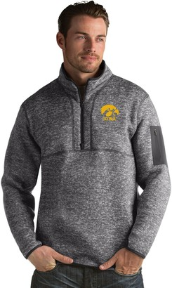 Antigua Men's Iowa Hawkeyes Fortune Pullover