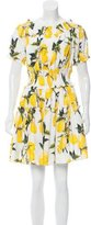 Dolce & Gabbana 2016 Lemon Print Dress w/ Tags