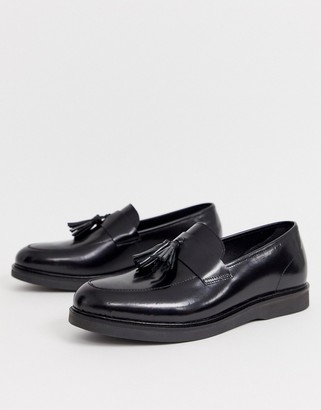 H By Hudson calveston Loafers in high shine black