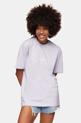 Topman Womens Lilac Santa Monica T-Shirt - Lilac