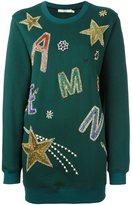 Amen embellished sweatshirt