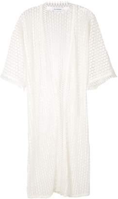 Olympiah Lamier lace kimono