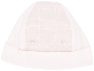 Christian Dior Quilted-Panel Hat