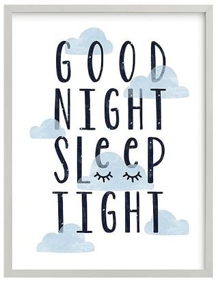 Pottery Barn Kids Good Night Wall Art by Minted