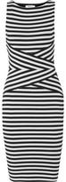 Bailey 44 Striped Stretch-Jersey Dress