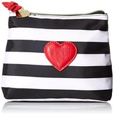 Betsey Johnson Away We Go 2 Piece Cosmetic Bag