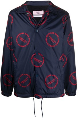 Martine Rose All-Over Logo Jacket