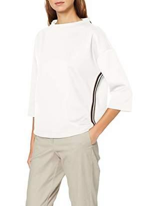 S'Oliver BLACK LABEL Women's 11.910.39.2690 Longsleeve T-Shirt, (Forever Black 9999), 10 (Size:)