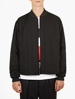 Marni Black Wool Bomber Jacket