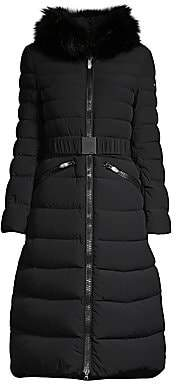 Post Card Women's Urban Mana Fur-Trim Puffer Coat