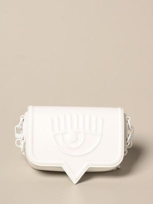 Chiara Ferragni Crossbody Bags Small Eyelike Bag In Synthetic Leather