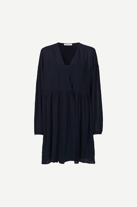 Samsoe & Samsoe Jolie short dress 11156 - XS/34   blue   polyester - Blue/Blue