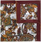 Eleventy floral square scarf