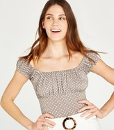 Thumbnail for your product : New Look Light Spot Square Neck Top