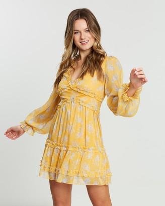 Atmos & Here Mia V-Neck Mini Dress