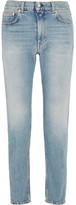 Acne Studios Boy Mid-rise Slim Boyfriend Jeans - Mid denim