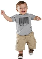 Crazy Dog T-shirts Crazy Dog Tshirts Baby Made In Vachina T-Shirt Funny Cute Infant Tee for Kids