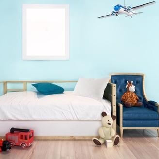 "Everyday Home Shredded Memory Foam Toddler Pillow Medium Firm, 21"" x 14"""