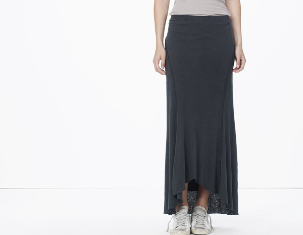 James Perse Inside Out Ellipse Skirt