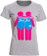 USA Swimming Women's Pool Pal Crew Neck TShirt - 8147080