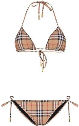 Burberry Classic Check Bikini Set