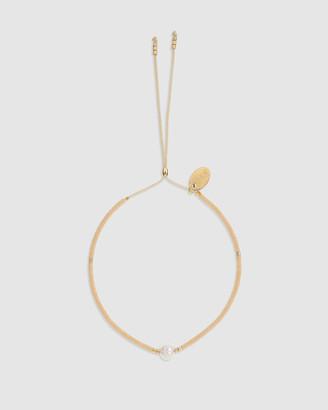 Arms Of Eve Petra Pearl & Cream Glass Beaded Bracelet
