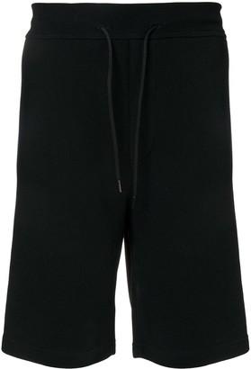 Valentino VLTN logo panel shorts