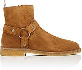 Saint Laurent Men's Nevada Suede Ankle Boots