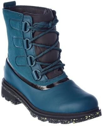 Sorel Lennox Street Lace Waterproof Suede Boot