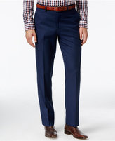 Lauren Ralph Lauren Men's Classic-Fit Navy Blue Tic Dress Pants