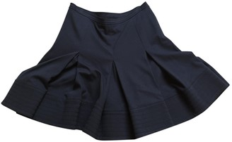 Jo No Fui Blue Cotton - elasthane Skirt for Women